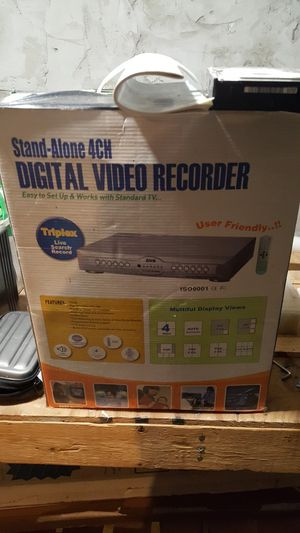 Analog camera system dvr for Sale in Neenah, WI