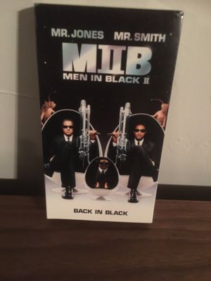 Men in Black II (VHS, 2002) Will Smith, Tommy Lee Jones for Sale in Commack, NY
