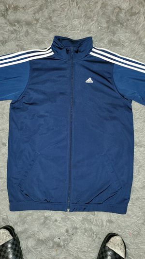 Adidas navy sweater 3 stripes for Sale in Fresno, CA