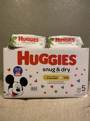 Huggies Size 5📍NO DELIVERY📍READ DESCRIPTION📍 for Sale in Norwalk, CA