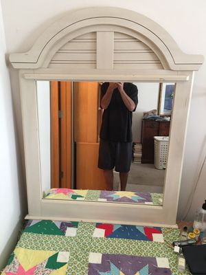 Solid wood mirror 26x28.5 in for Sale in Blacklick, OH