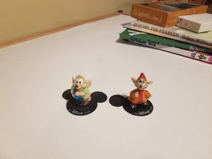 Disney Cinderella mice, Jaq and Gus for Sale in Peabody, MA