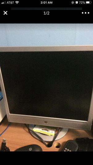 HP monitor for Sale in Hempstead, NY