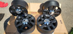 """GMC OEM BLACK 18"""" RIMS for Sale in Puyallup, WA"""