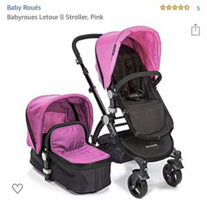 Baby Roues Letour II Stroller Set Pink for Sale in Middle River, MD