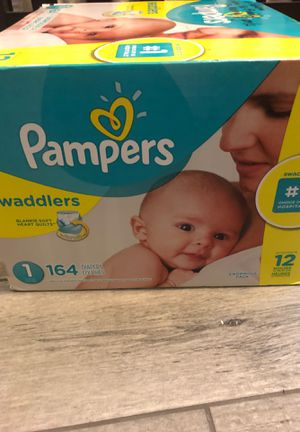 Pampers swaddlers size 1 for Sale in Ontario, CA