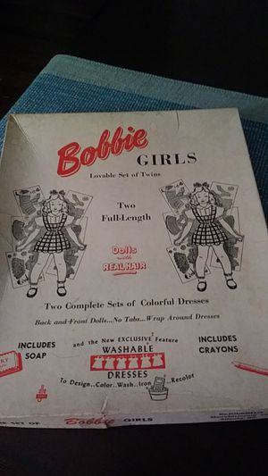 Bobbie Girls Paper Dolls for Sale in Brooklyn Park, MD