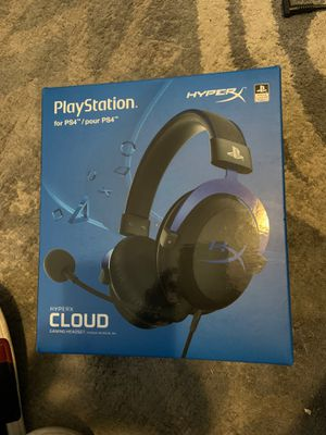 HyperX PS4 gaming headset for Sale in Providence, RI