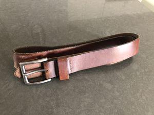 Men's 36 Bison Leather Belt for Sale in Glendale, AZ