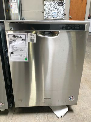 New Whirlpool Stainless Steel Built In Dishwasher!!1 Year Warranty Included! for Sale in Gilbert, AZ