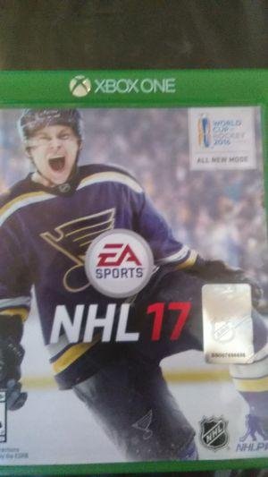 NHL17 Xbox one for Sale in Dallas, TX