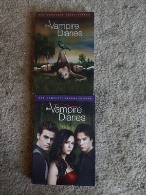Vampire Diaries seas 1 and 2 for Sale in Sanger, CA