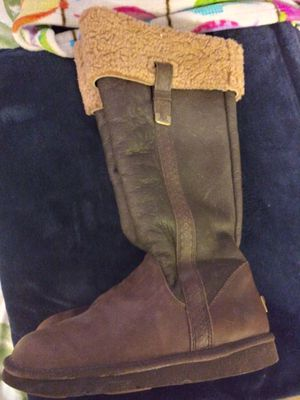 Leather Uggs Boots for Sale in Frederick, MD