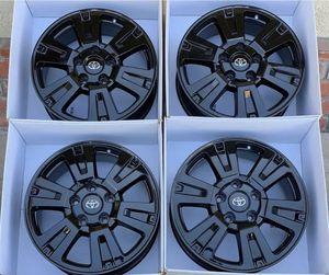 "20"" Toyota Tundra Black brand new wheels rims for Sale in Huntington Beach, CA"