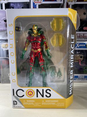 DC Collectibles DC Icons Mr. Miracle Action Figure for Sale in Orlando, FL
