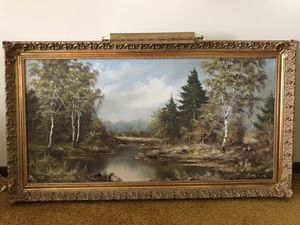 Vintage beautiful Oil Painting for Sale in Hodgkins, IL