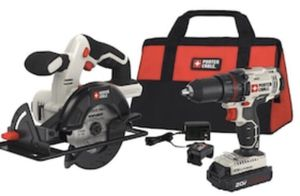 PORTER-CABLE 2-Tool 20-Volt Max Power Tool Combo Kit for Sale in Covina, CA