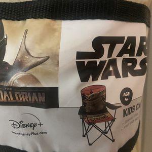Mandalorian, Star Wars Kids Camp Chair for Sale in St. Petersburg, FL