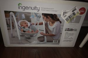 Ingenuity Poweradapt Portable Swing , Never Used for Sale in Silver Spring, MD