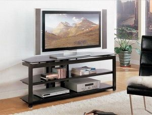 "🌈Delta Glass 58"" TV Stand (SameDay Delivery)🌈 for Sale in Glen Burnie, MD"