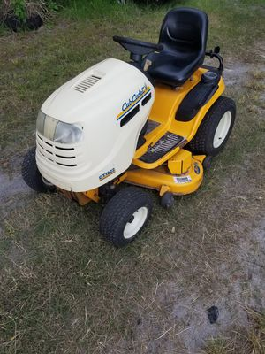 "Cub cadet 46"" riding mower for Sale in Riverview, FL"