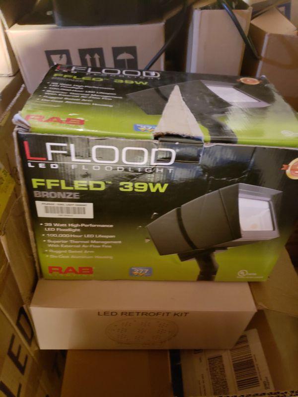 RAB LED FLOOD LIGHTS