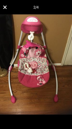 Minnie Mouse Musical Baby Swing for Sale in Washington, DC