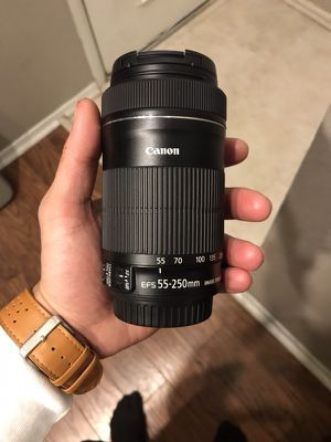 Canon 55-250 MM Lens for Sale in Austin, TX
