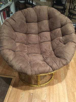 Futon/Papasan Chair for Sale in Garden Grove, CA