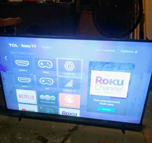 "TCL ROKU 55"" SMART TV 4K for Sale in Orange City, FL"