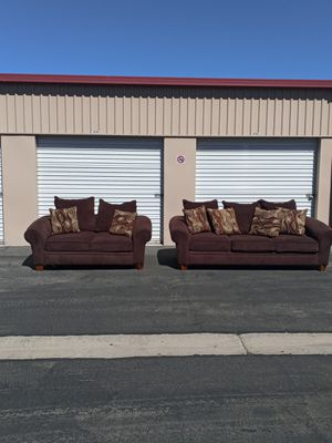 Beautiful Ashley Sofa & Loveseat 🧨 Free Delivery 🧨🚚 for Sale in Las Vegas, NV
