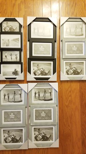 Malden 3-Opening Collage picture Frame lot of 5 for Sale in Bel Air, MD
