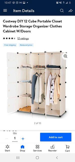 New 12 Cube Portable Closet Storage Organizer for Sale in Norwalk, CA