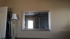 Silver framed wall mirror for Sale in San Diego, CA