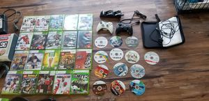X BOX 360 console, controlers ,games and guitar for Sale in Santa Clara, CA