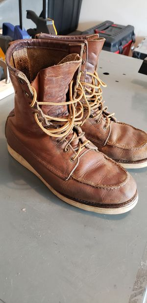 Red wing boots for Sale in Dallas, TX
