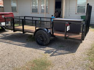 13' x 5' trailer with ramp for Sale in Houston, TX