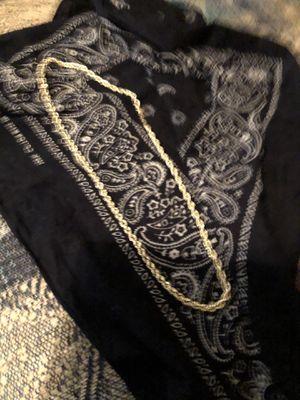 10k gold necklace for Sale in Wichita, KS