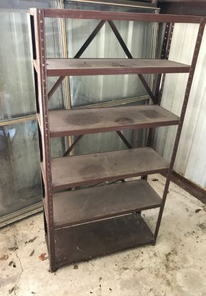6 Tier Adjustable Metal Shelving unit for Sale in Pearland, TX