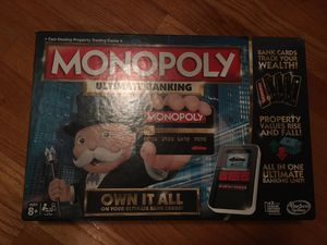 Monopoly ultimate banking for Sale in Tampa, FL