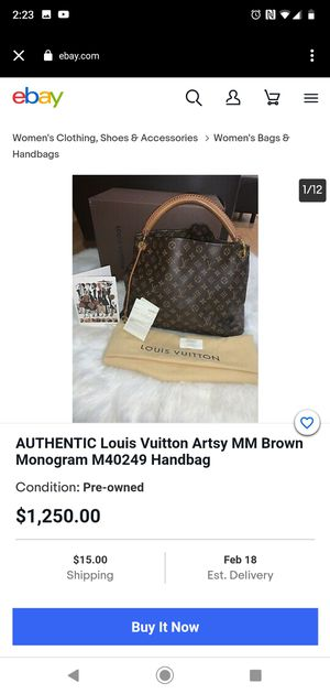 LOUIS VUITTON artsy MM for Sale in Houston, TX