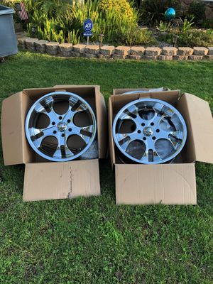"20"" Rims Set of 4 for Sale in Fresno, CA"