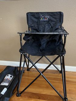 Ciao Baby Portable High Chair (Black) for Sale in Gilroy,  CA