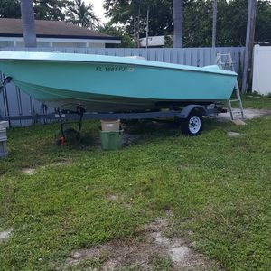 Flare Boat 18 Foot Center Console for Sale in Fort Lauderdale, FL