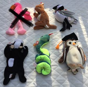 Vintage 90's TY Beanie Baby Bundle / Lot of 5 ~ Check out my Page 😊 for Sale in Fresno, CA