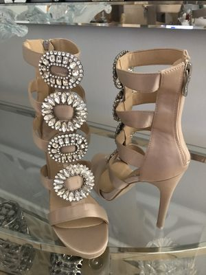 New bottoms Crystal Sandals Heels for Sale in Miami, FL