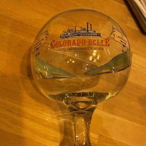 Vintage Colorado Belle Hotel & Casino 48 Oz Gator Jumbo Glass for Sale in West Covina, CA