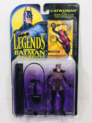 vintage 1994 Kenner Legends Of Batman Catwoman w/ Quick Climb Claw & Net action Figure for Sale in East Providence, RI