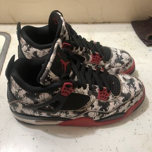Jordan 4 Retro Tattoo Size 11 for Sale in Bethany, OK