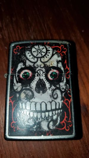 ,a zippo the needs the fluid only still in excellent condition for Sale in Houston, TX